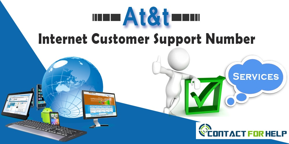 at&t internet customer service number