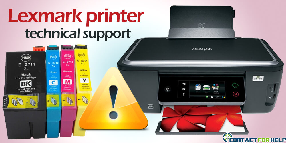 contact Lexmark printer support