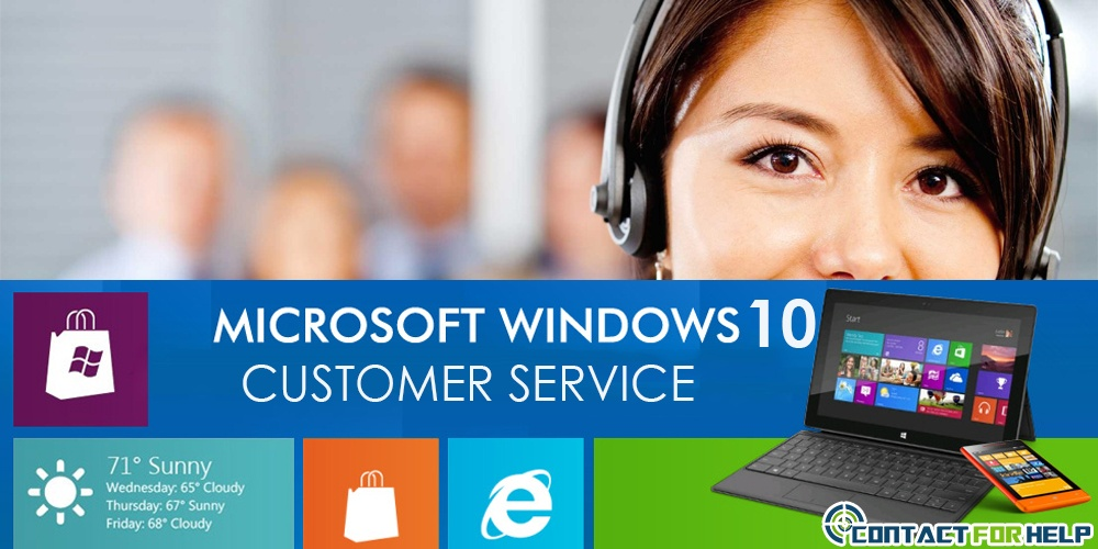 Microsoft Windows 10 customer support phone number