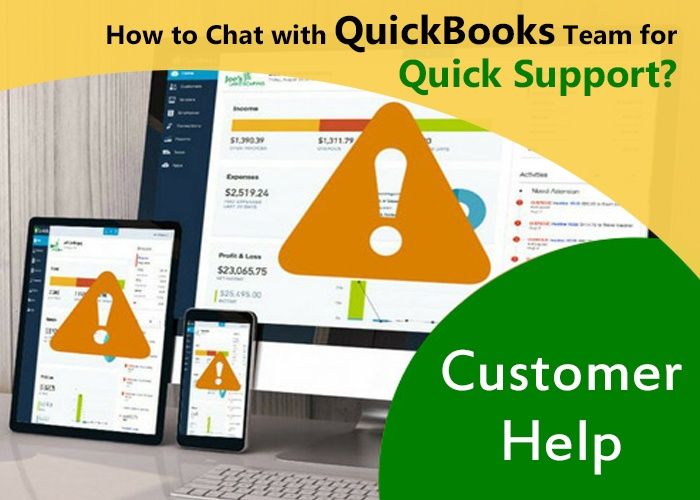 QuickBooks live chat support