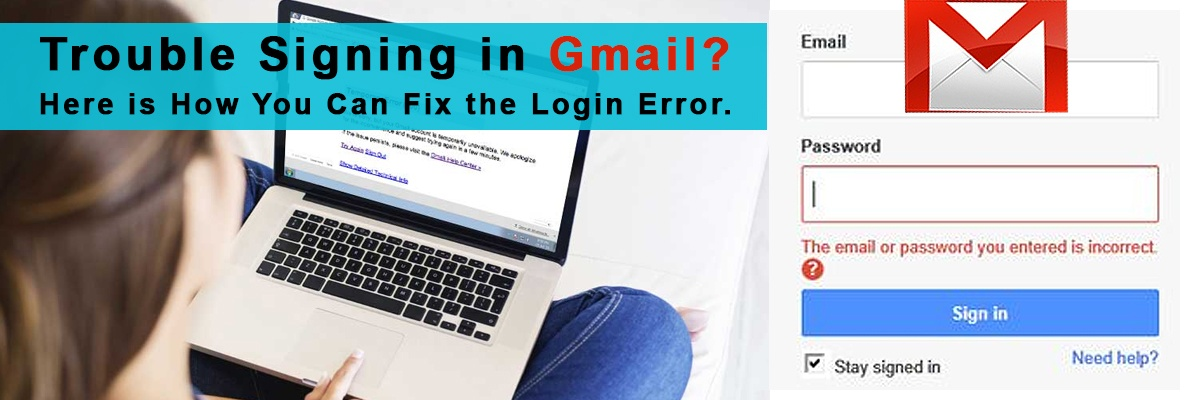 Trouble signing in Gmail- Here is how you can fix the login error.