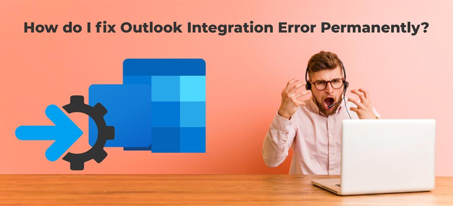 Outlook integration error